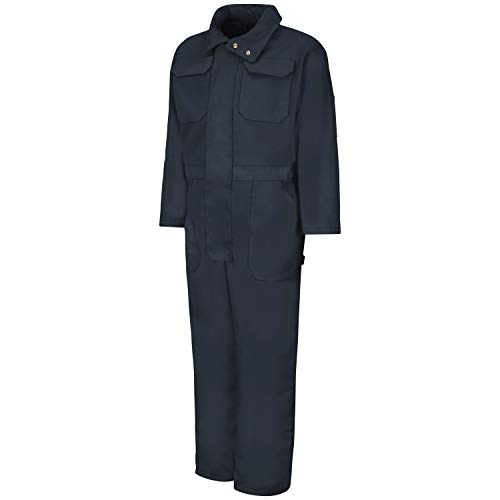Red Kap Men's Insulated Blended Duck Coverall, Navy Duck,...