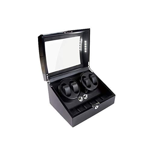 FYHH-JZHY Uhrenbeweger Uhrenbeweger Boxen 4+6 Mechanischer Uhrenbeweger High-End Uhrenbox Plattenspieler Lackierung Uhrenbox Uhrenbeweger