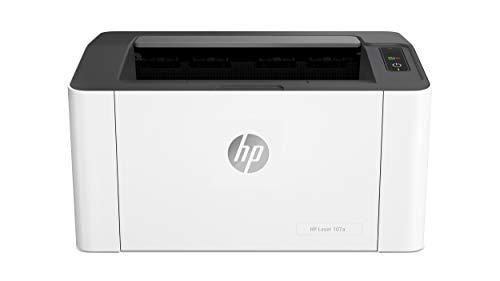 HP Laser 107a Laserdrucker (A4 Drucker, USB),Schwarz/Weiß