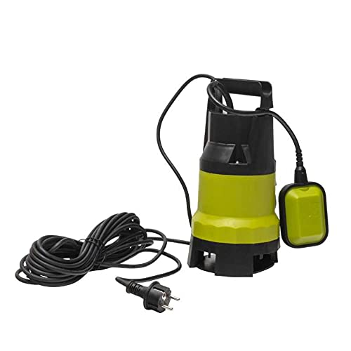 WerkaPro 11173 - Pompe Immergée Tout Usage - 400 Watts - Avec Flotteur - Coloris Vert et Noir