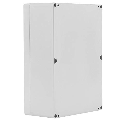 SNOWINSPRING Caja Impermeable Caja de PláStico Caja de Instrumentos para Proyectos ElectróNicos Caja de Proyectos EléCtricos Caja de Conexiones para Exteriores Vivienda 263X185