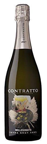 Contratto Millesimato Brut Metodo Classico Pinot Nero e Chardonnay 0,75 lt.