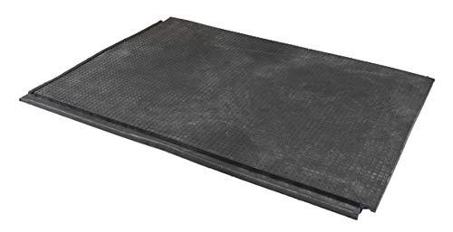 ecora Low-Budget Bodenmatten 2,5 cm - Komplett-Set für 18 m² ~ Stallmatten ~ Boxenmatten Kunststoff
