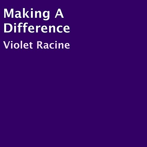 Making a Difference audiobook cover art