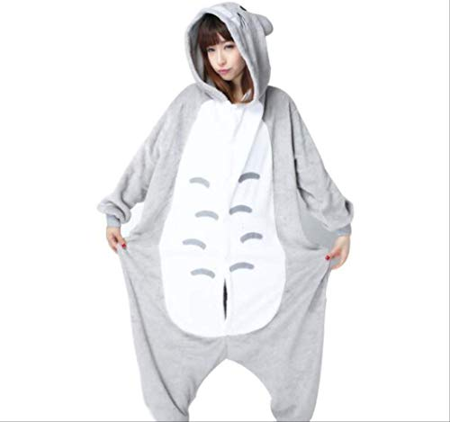 Animal Pyjamas Onesie Für Erwachsene Männer Cartoon Frauen Pyjamas Weihnachten Cosplay Kostüm Onesies Kigurumi Jumpsuit XXL Totoro Strampler