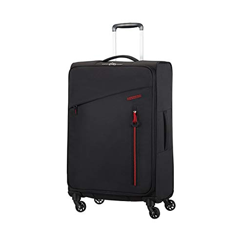 American Tourister Litewing 4-Rollen Trolley 70 cm Volcanic Black