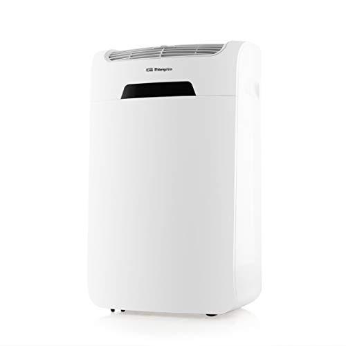 Orbegozo ADR 126 – Aire Acondicionado portátil con Bomba clasificación energética A/A+ (frío/Calor), Mando a Distancia, deshumidificador, Pantalla LCD, Blanco