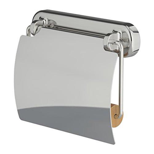 Ikea 403.285.95 Voxnan - Portarrollos de papel higiénico, efecto cromado