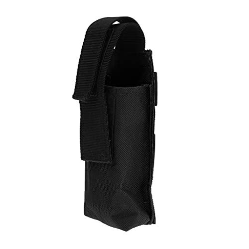 Sharplace Housse De Rangement Garrot Ciseaux Outil Cmping Randonnée Boucle Reglable Poche Portable - Noir, 130mm * 60mm * 35mm