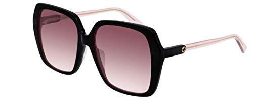 Gucci Sonnenbrillen GG0533SA Black/RED Shaded Damenbrillen