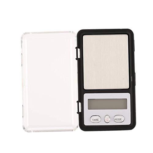 CHOUCHOU Colgante Pendientes Mini Pocket Digital 200g 0.01g Escala de precisión g/oz/TL/CT Peso de medición for la Cocina joyería Farmacia, Función Tara Oro