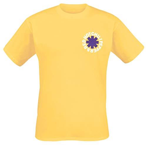 Red Hot Chili Peppers Herren T-Shirt Los Chili gelb