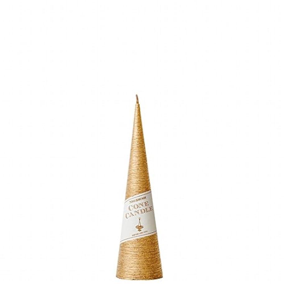 端末泣き叫ぶ靴kameyama candle(カメヤマキャンドル) ネオブラッシュコーン 180 キャンドル 「 ゴールド 」 6個セット(A9750110GO)