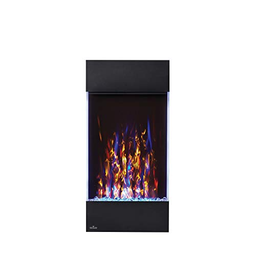Napoleon Allure-NEFVC32H Vertical Wall Hanging Electric Fireplace, 32 Inch, Black