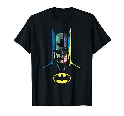 Batman 80 Years Many Faces T-Shirt