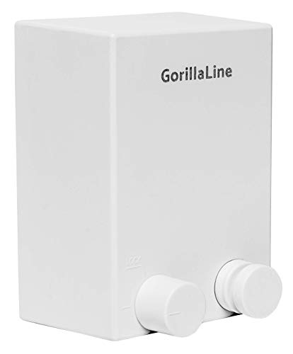 GorillaLine Retractable Clothesline - Heavy Duty Clothing Line for Drying Clothes - Wall Mounted Stainless Steel Laundry Line - Easy Install and Hides Away in Seconds