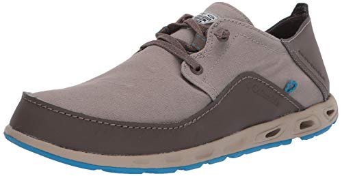 Columbia Men's Bahama Vent Relaxed Laced Boat Shoe, Kettle/Pool, 11 Regular US