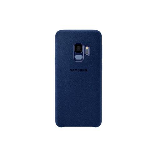 Samsung Alcantara Schutzhülle für Galaxy S9–Blau, EF-XG960ALEGWW