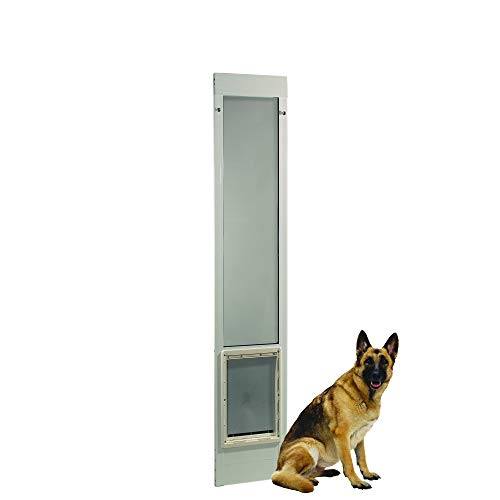 "Fast Fit Pet Patio Door 80"" Super Large (White)"