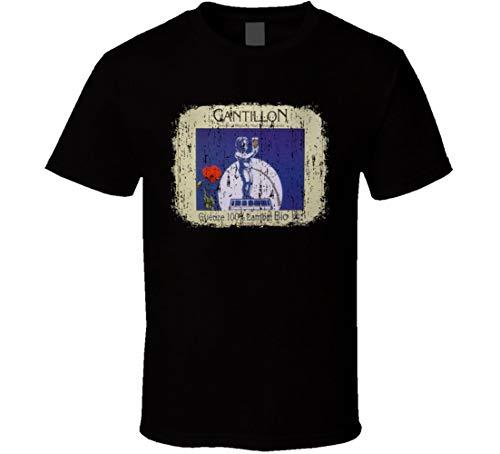 N/Y Geuze Cantillon Lambic Bio Belgisches Bier Ale Lover Worn Look T-Shirt Schwarz Gr. L, Schwarz