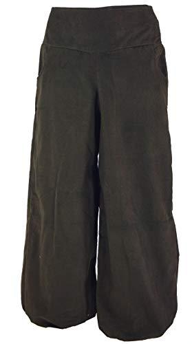 Guru-Shop Spodnie pludrowe, damskie, bawełna, pludry, spodnie alladynki, odzież alternatywna