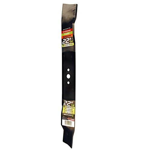 Maxpower 331731B Mulching Blade for 22 Inch Cut Poulan/Husqvarna/Craftsman Replaces 141114, 157101, 406713, 406713X431, 532141114, 532406713
