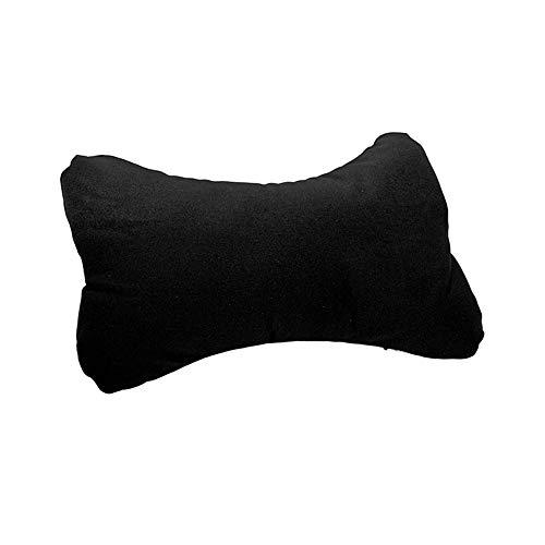 Nackenkissen | Reisekissen mit elastischer Band | ergonomisches Kissen für Autokopfstütze, Bürostühle, Sofas… | EUROXANTY