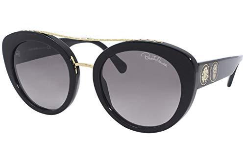 Gafas de sol Roberto Cavalli RC 1128 01B Shiny Black/Gradient Gris