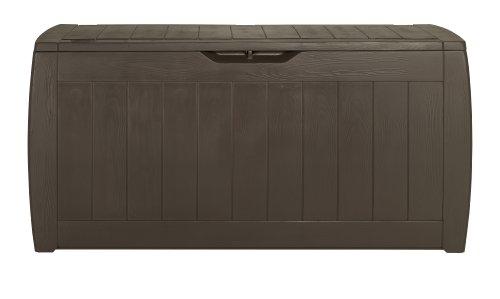 Keter Kissenbox Hollywood Box, braun, 270L, 118cm - 2