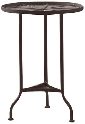 Bastelmaxi Mosaiktisch Tischrohling rund Durchmesser 42 cm, schwarz