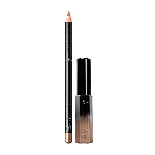Sayla Lippenstift Set Lippen Make-Up Konturenstifte Lipglosse Damen Langlebigen Lippenstift...