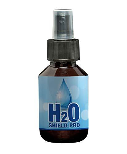 H2O Shield Pro Hydrofuge imperméabilisant I 100 I Impermeabilisant pour textile I Nettoyant vetement de pluie biologique I Protège les vêtements de la pluie I Fonctionne aussi sur le cuir