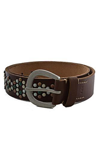 Esprit edc accessoires ceinture colored studs b marron 75