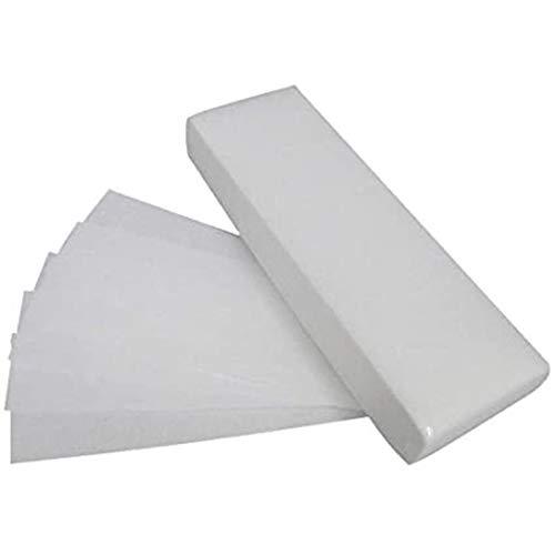 Yubenhong 100pc Stücke Vlies Wachs Streifen Gesicht und Körper Haarentfernung Wachs Streifen Epilieren Wachs Streifen Papier, Weiß