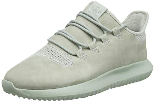 adidas Men's Tubular Shadow Gymnastics Shoes, Grey (Ash Silver/ChalkWhite/Ash Silver), 10 UK