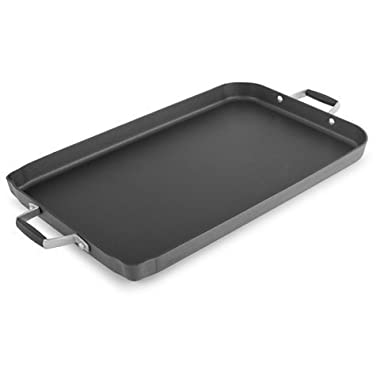 New Hard-Anodized Non-stick Double Griddle