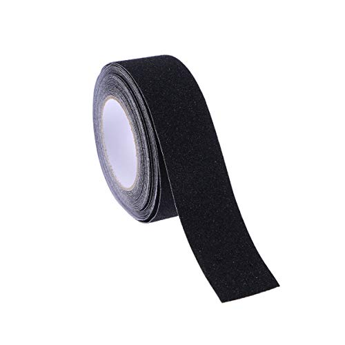 UEETEK 10M elevato Grip Anti scivolo nastro adesivo antiscivolo eseguito il nastro (nero)