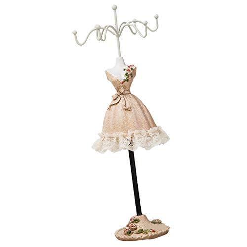 B Blesiya - Soporte para joyas, 25 cm de alto, diseño de princesa
