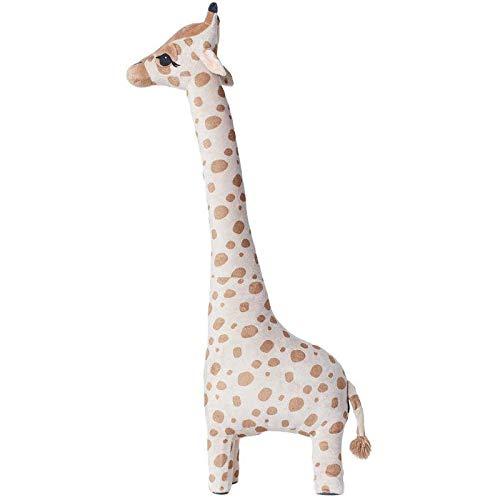 WWWL Juguetes suaves simulación jirafa juguetes de peluche suave animal jirafa durmiendo muñeca regalo de cumpleaños niños juguete