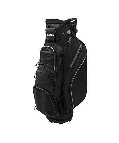 Bag Boy Chiller Cart Bag, Black/Charcoal/Silver, One Size