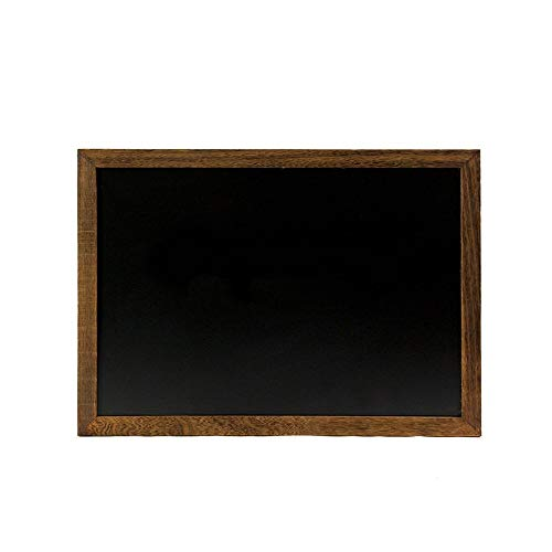 Kreidetafeln Rustikales Holz gerahmte Tafel Zeichen for Wand-Home School werbetafel (Color : Picture Color, Size : 50x70cm)