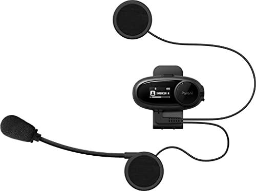 Parani M10 SENA技術とサポート品質 バイク インカム 4人同時通話 HDインターコム FMラジオチューナー 日本語音声案内 マルチデバイス接続 ファームウェア更新 BTヘッドセット ステレオ音質 ワイヤレス Siri Googleアシスタント対応 日本語ユーザーガイド 日本国内サービスサポート 1年保証