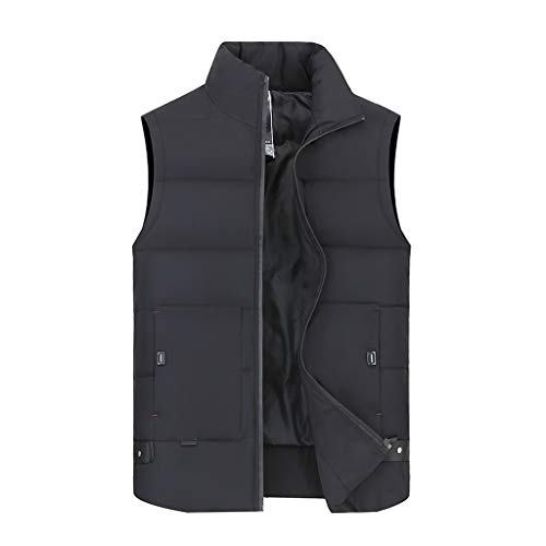 Vest van katoenen vest, verdikte herentrui met eenvoudige geometrische patronen, model winter Jacket Giù Gilet Outdoor 8 maten warm