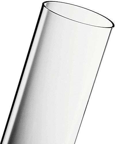 ACTIVA Glasröhre Flammenheizer Pyramide Ersatz-Glas-Röhre, 107 cm x 12 cm