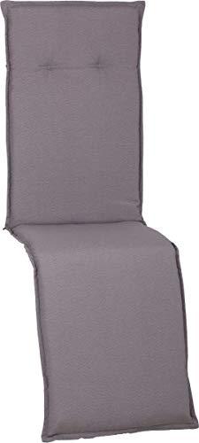 Beo Gartenmöbel Auflage hellgrau wasserabweisend für Relaxstühle AUB94