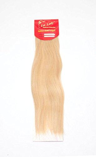 45,7 cm Premium indien Ange 100% Remy Extension de cheveux humains tissage 113 g # S10 (# 613)