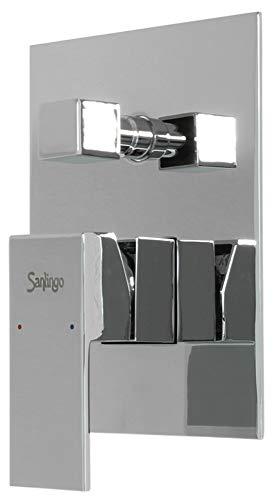 Sanlingo-Válvula deviatrice Sanlingo, 2 Vías, 6 a, para empotrar en baño lavabo, estilo: