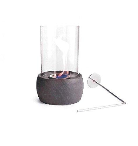 Glasfeuer Ellie Tischkamin Feuerstelle Kamin Tischfeuer Bio Ethanol