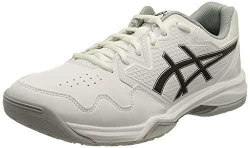 ASICS Gel-Dedicate 7, Zapatillas de Tenis Hombre, Blanco y Negro, 47 EU