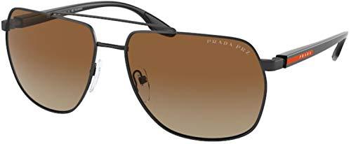 Prada Gafas de sol deportivas para hombre PS 55VS, 1BO02I, 59